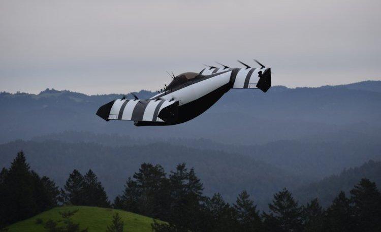 У мережі з'явилося відео польоту літаючої машини BlackFly