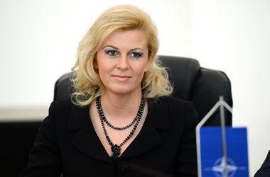 Президент Хорватии неожиданно заявила о готовности сотрудничать с РФ