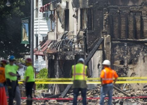 У США вибух газу покалічив людей