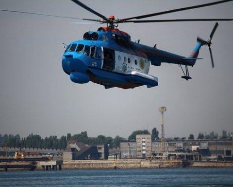 Украинские пограничники учились десантироваться в экстремальных условиях
