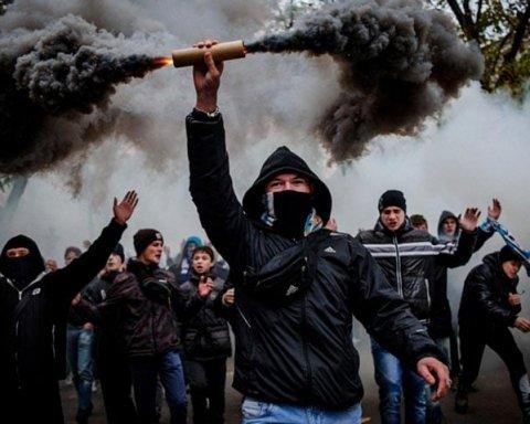 Суперкубок України-2018: в Одесі затримали групу футбольних фанатів