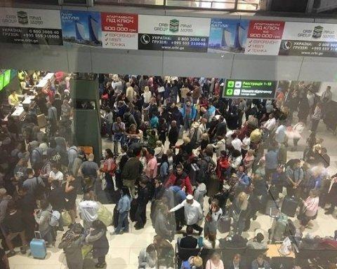 Скандал в аэропорту Киев: пассажиры уже не верят, что смогут вылететь