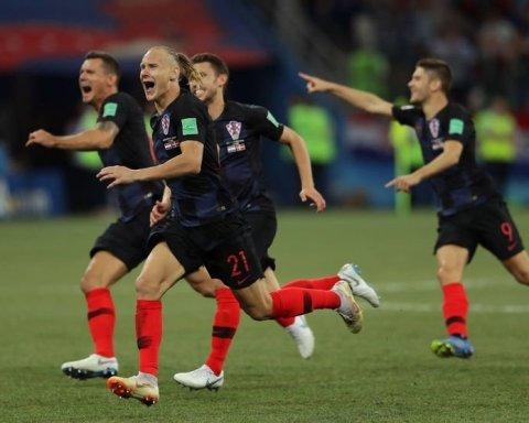 Хорватские футболисты посвятили победу над Россией на ЧМ-2018 Украине