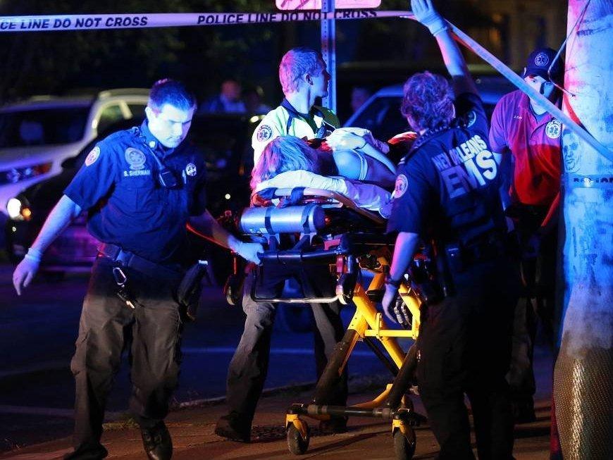 ВНовом Орлеане двое мужчин устроили стрельбу, есть жертвы ираненые