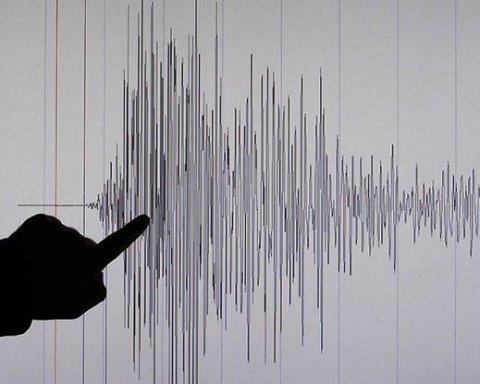 Біля берегів Нової Зеландії стався землетрус