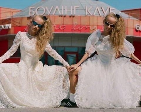 Фото украинских близняшек было признано лучшим в Instagram