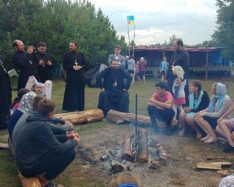 На детский православный лагерь напали неизвестные: подробности
