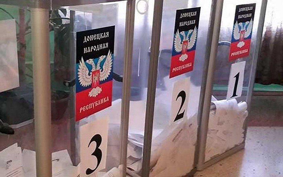 »Выборы» главаря «ДНР»: террористы заявили о «диверсии»