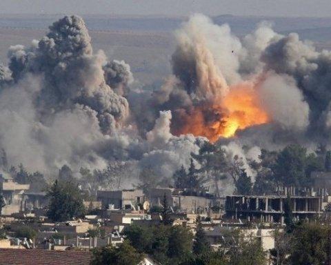 США обстреляли позиции армии Асада, погибли десятки людей