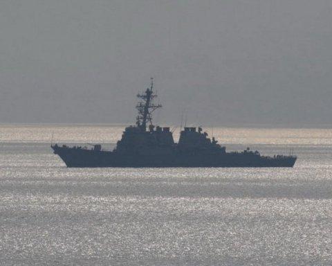 В Одессу прибыл эсминец США
