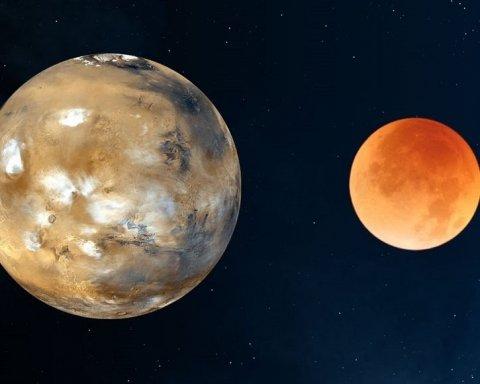 Над Землею «зіткнуться» Місяць та Марс: вчені зробили важливу заяву