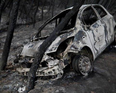Пожары в Греции: власти заявили о поджоге