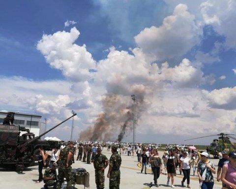 У Румунії під час авіашоу розбився літак
