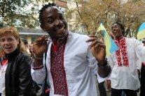 Афроукраинец из Одессы избил сепаратиста