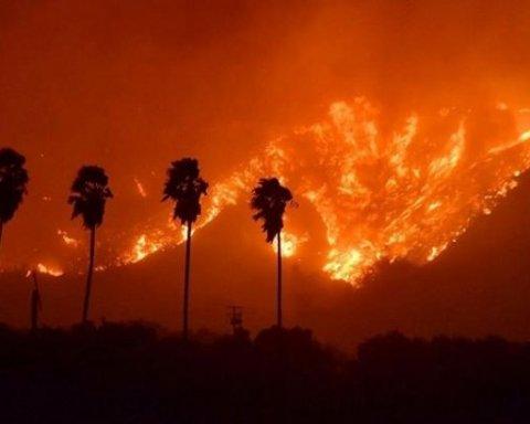 Сан-Франциско перетворилося на пекло через масштабні пожежі