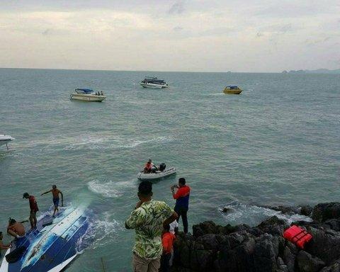Катастрофа з кораблями в Таїланді: кількість жертв зросла, влада йде на крайні заходи