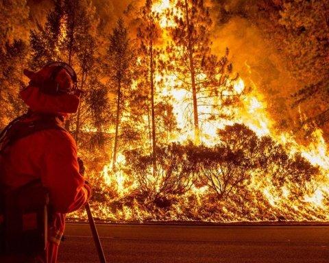 Грецию охватил огонь, страна просит о помощи, уже десятки погибших