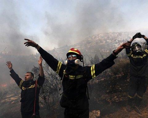 Пожары в Греции: министр обороны нашел виновных в гибели людей