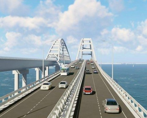 Божа кара: над Керченським мостом пронісся смерч