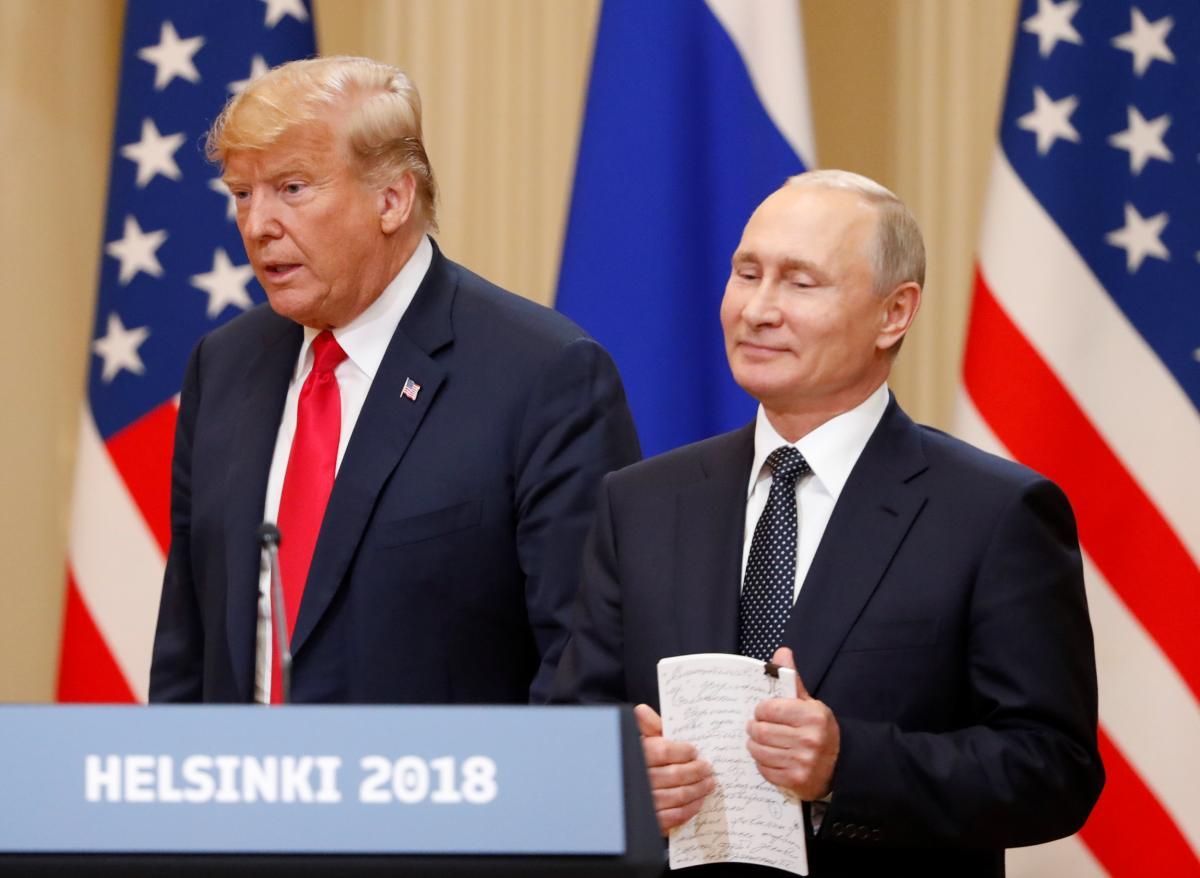 """Путін """"вмовляє"""" Трампа провести референдум на Донбасі"""