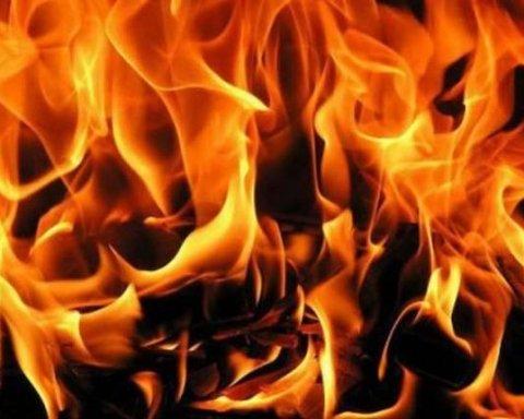 В Днепре ночью сгорел магазин