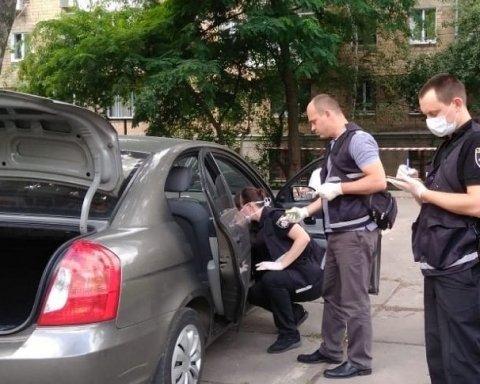 Расстрел в центре Киева: появились первые кадры с места происшествия