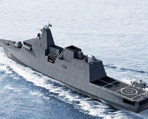 Бразилия рассматривает Украину для производства кораблей для ВМФ