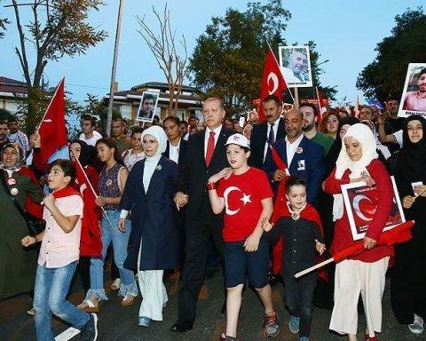 Турция заявила, когда отменит чрезвычайное положение