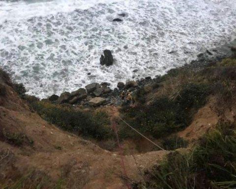 Жага до життя: жінка вижила після падіння зі скелі