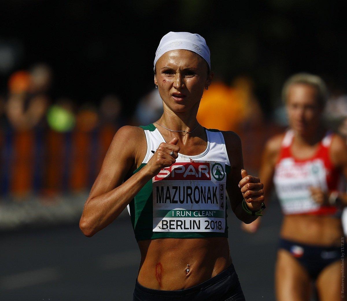 Белоруска истекла кровью, но героически победила на чемпионате Европы