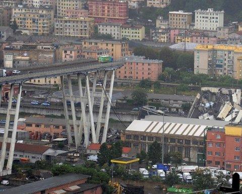 Італійці бояться подальшого обвалення мосту генуезького
