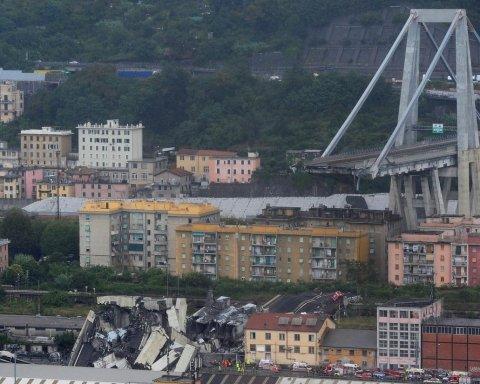 На мосту, що обвалився в Генуї були українці: що відомо