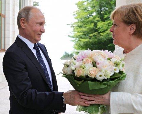 Украина и не только: о чем говорили Путин и Меркель на трехчасовой встрече