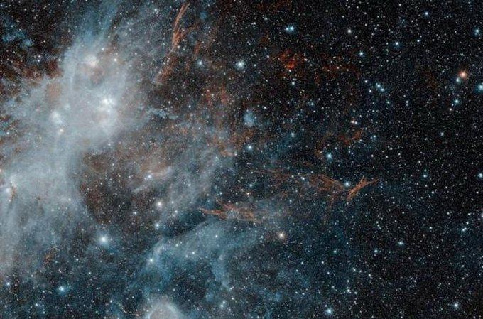 NASA показало, как выглядит космический «призрак»