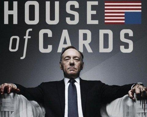 Кремль «залили» кровью в новом сезоне «Карточного домика»