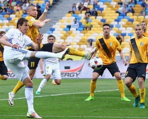 Динамо обіграло Олександрію та вийшло на перше місце у чемпіонаті України