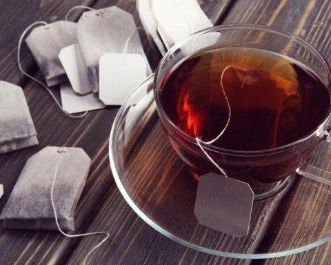 Медики обнаружили опасность чая в пакетиках