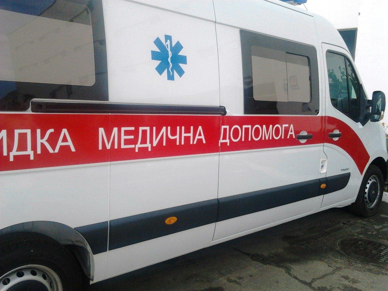 В Киеве голый неадекват выпал из окна