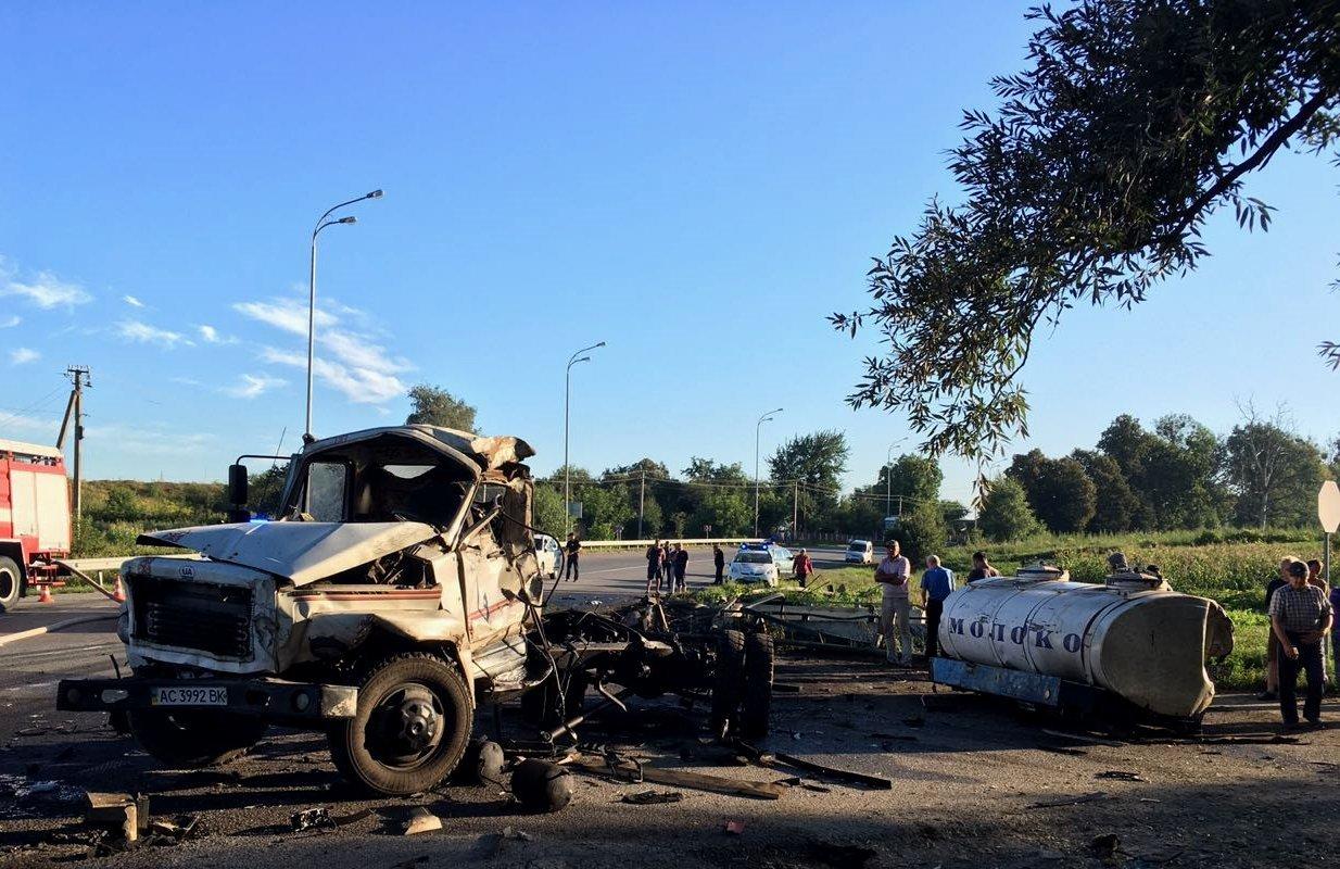 Водитель сгорел заживо в жуткой аварии на Ровенщине