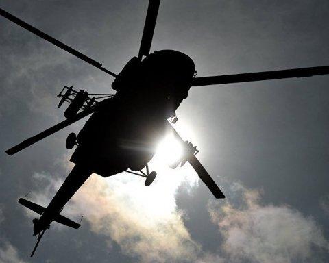 Падение вертолета в России: появилось видео с места смертельной аварии