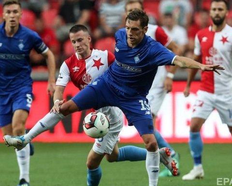 Динамо обыграло Славию и прошло в плей-офф Лиги чемпионов