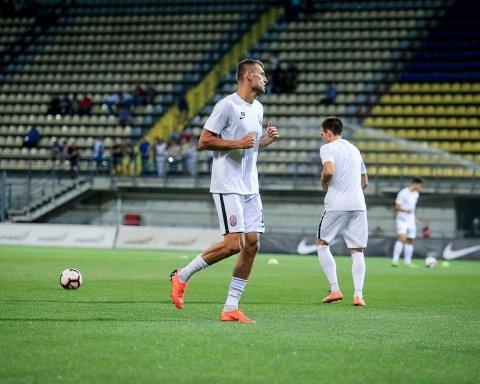 Заря благодаря зрелищной ничье с Брагой прошла в плей-офф Лиги Европы