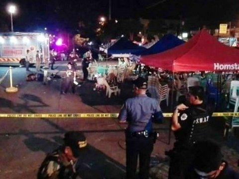Мощный взрыв возле рынка унес жизни двух человек, десятки раненых