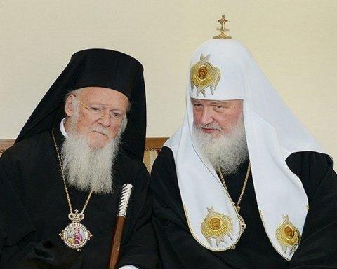 Московский патриарх собирается решать «украинский вопрос» с патриархом Варфоломеем