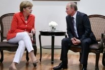Меркель и Путин обсудят «украинский вопрос» на личной встрече