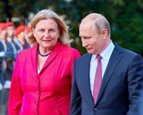 Путин собрался на свадьбу к ультраправой подруге из Австрии