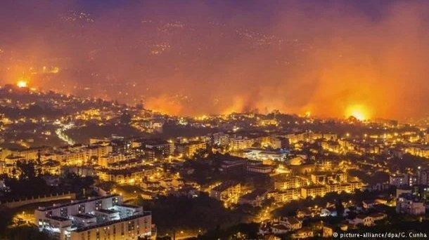 На европейском курорте пылают пожары, десятки людей уже пострадали