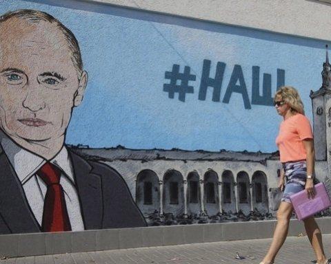 Хами та свинюки: мешканці окупованого Криму накинулися на туристів