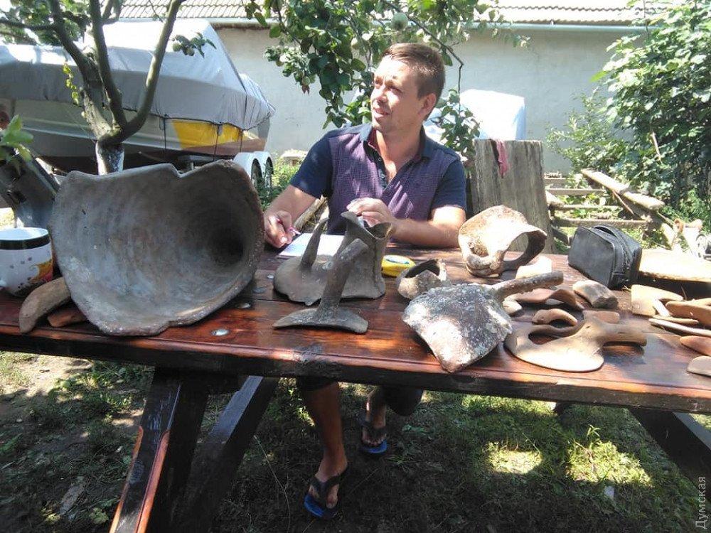 Под Одессой нашли уникальные амфоры, которым 2,5 тысячи лет