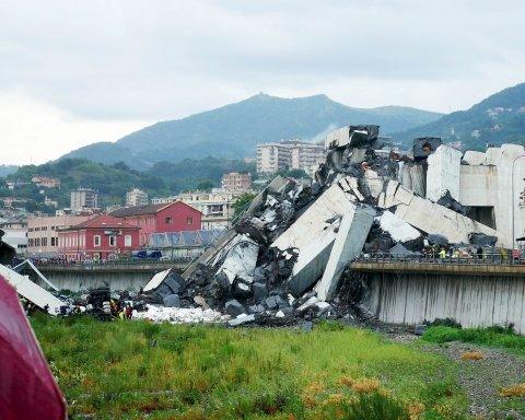 Під завалами мосту у Генуї знайшли загиблу сім'ю